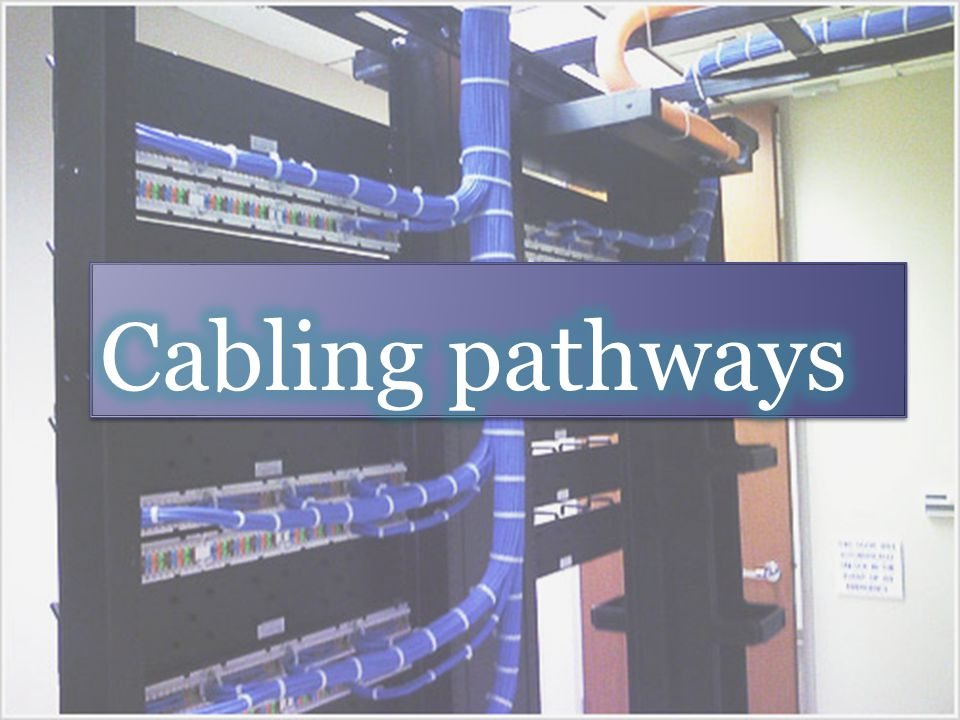 Cabling pathways