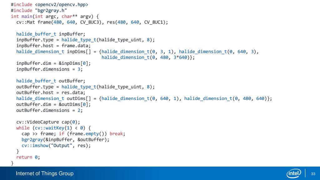 Image processing language Halide - ppt download