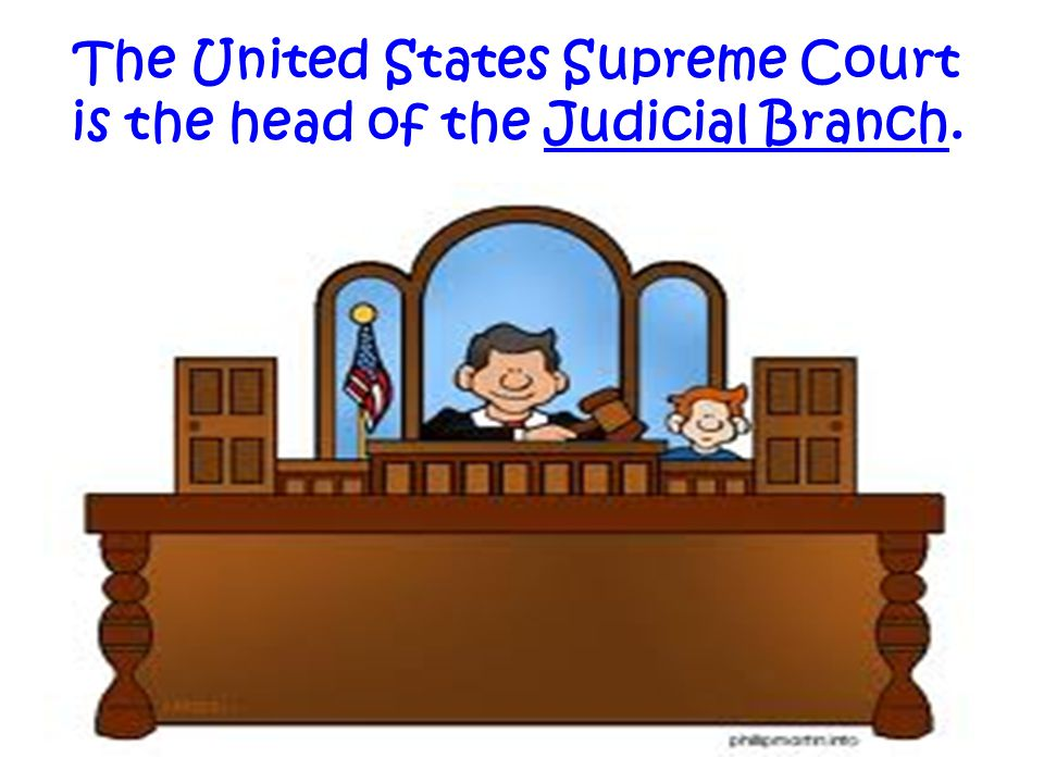 The United States Supreme Court is the head of the Judicial Branch.