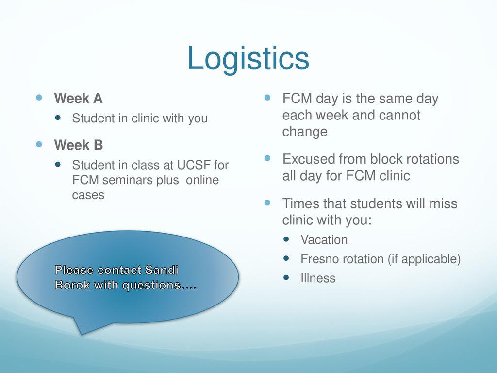 FCM Orientation ppt download