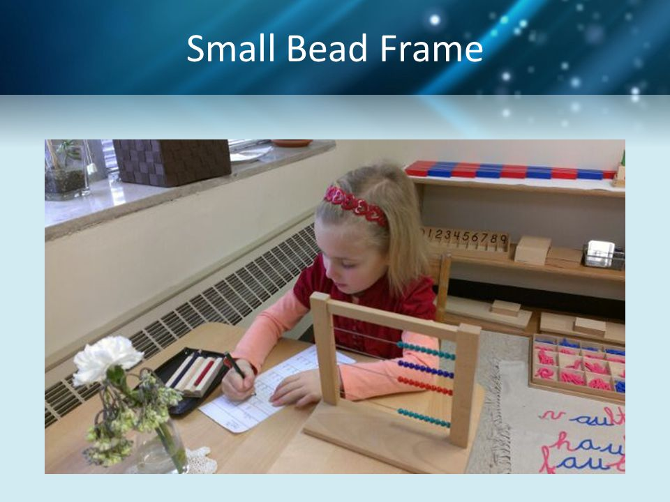 Small Bead Frame