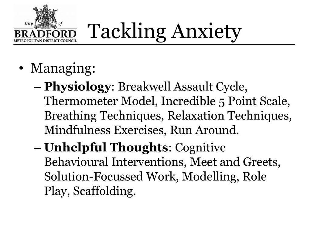 Anxiety In Children And Young People Ppt Download