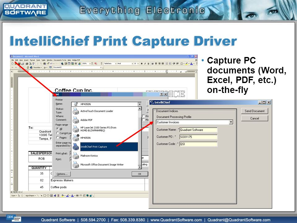 IntelliChief Print Capture Driver