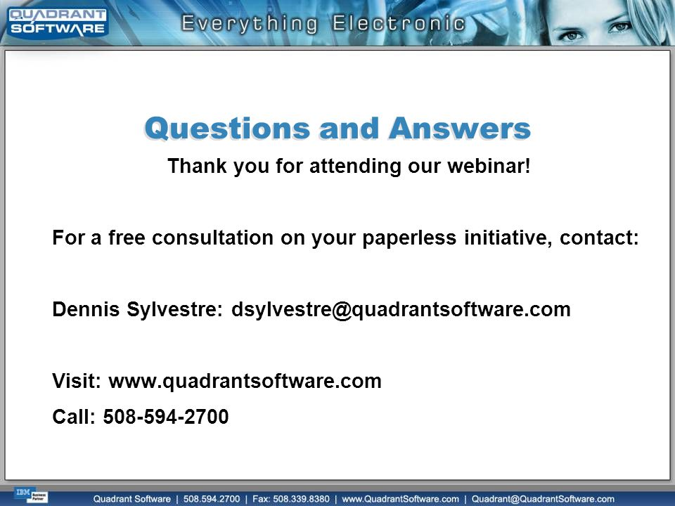 Thank you for attending our webinar!