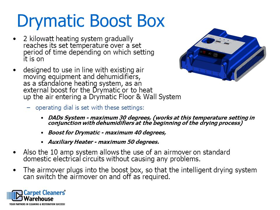 Drymatic Boost Box