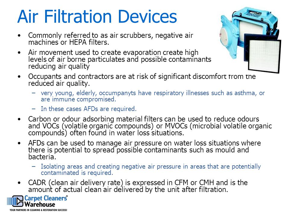 Air Filtration Devices