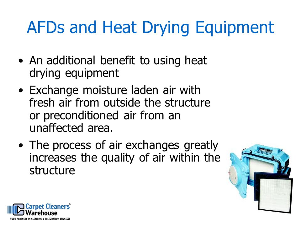 AFDs and Heat Drying Equipment