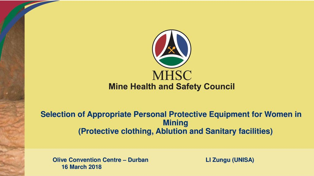 Selection of Appropriate Personal Protective Equipment for