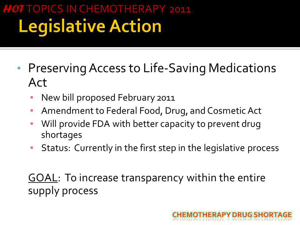 Legislative Action Preserving Access to Life-Saving Medications Act