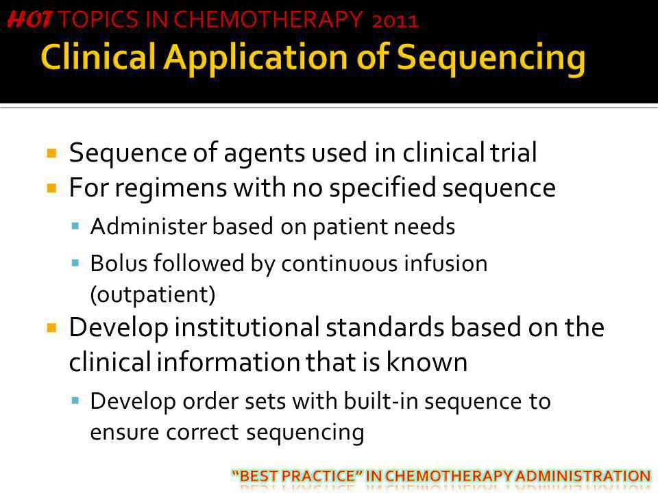 Clinical Application of Sequencing