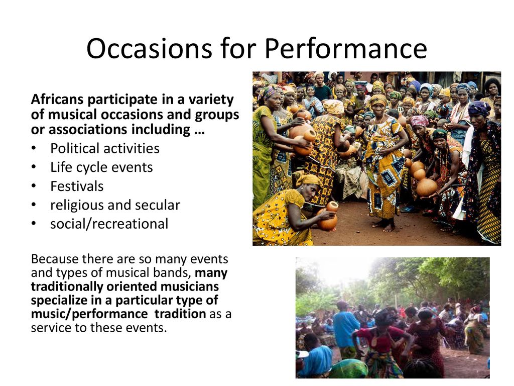 Traditional Music from Ghana - ppt download