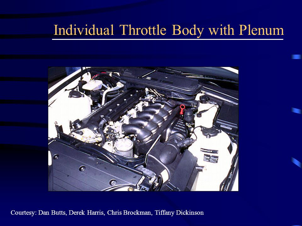 Individual Throttle Body with Plenum