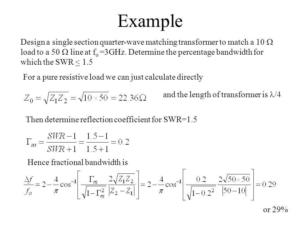 Chapter 3 Matching and Tuning - ppt video online download