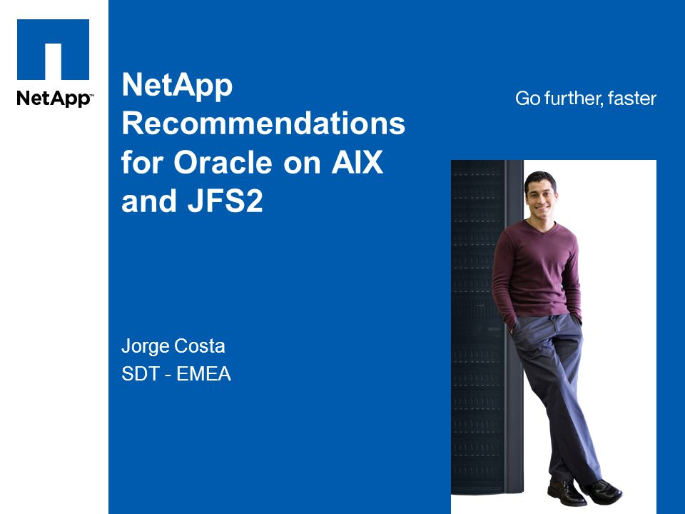 NetApp Recommendations for Oracle on AIX and JFS2