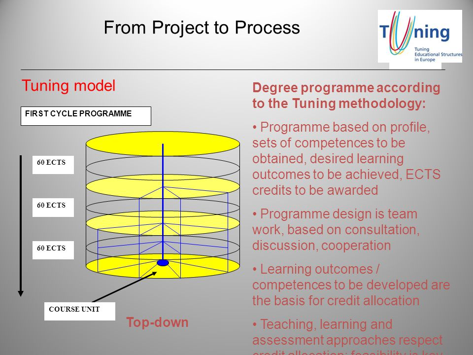 From Project to Process