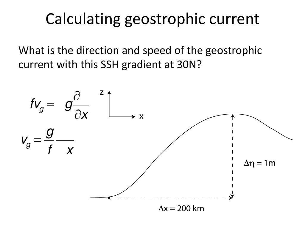 Week 4: Fluid dynamics principles Tally's book, chapter 7