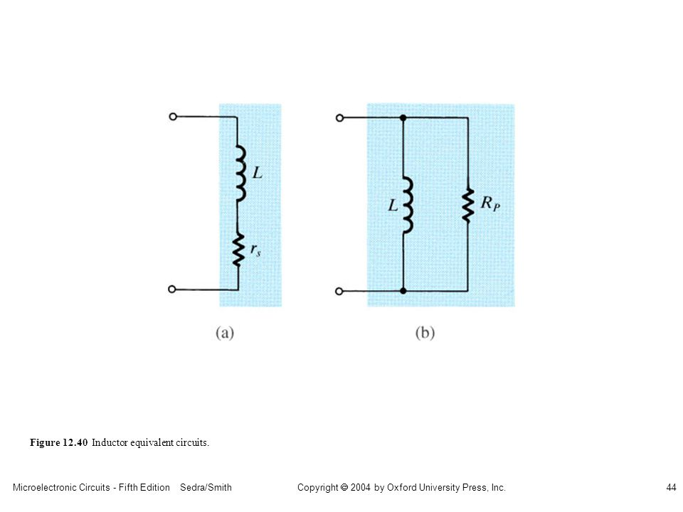 sedr42021_1240ab.jpg Figure 12.40 Inductor equivalent circuits.