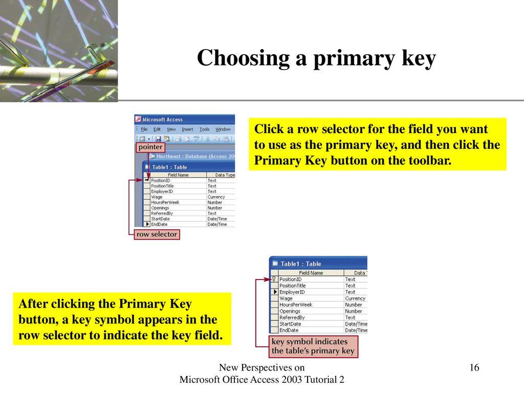microsoft office access key