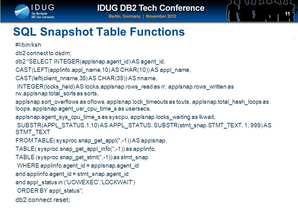 Tuning Tips for DB2 LUW in an OLTP Environment - ppt download