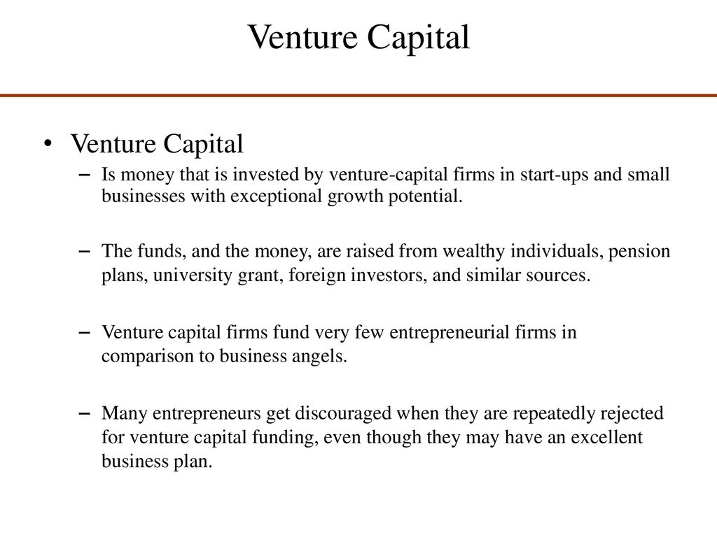 Getting Financing or Funding - ppt download