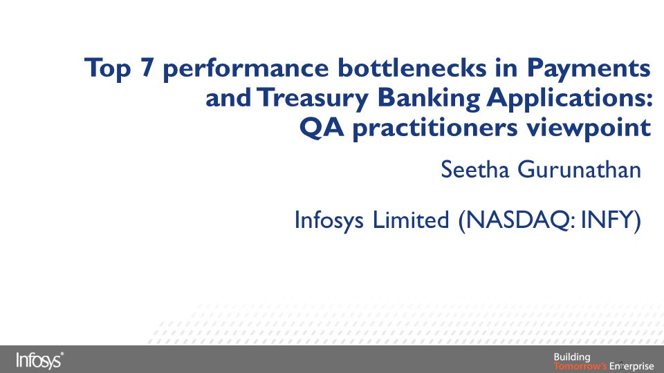 QA practitioners viewpoint