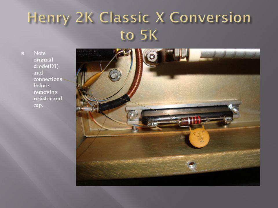 Henry 2K Classic X Conversion to Henry 5K - ppt video online