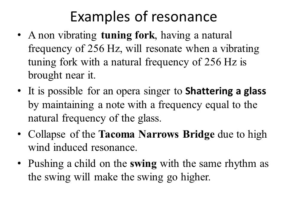 13 2 Sound Intensity And Resonance Ppt Video Online Download