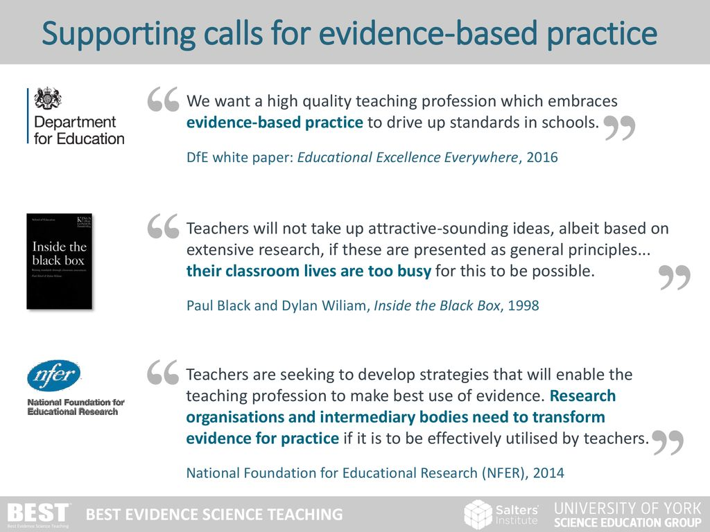 Based on research evidence - ppt download