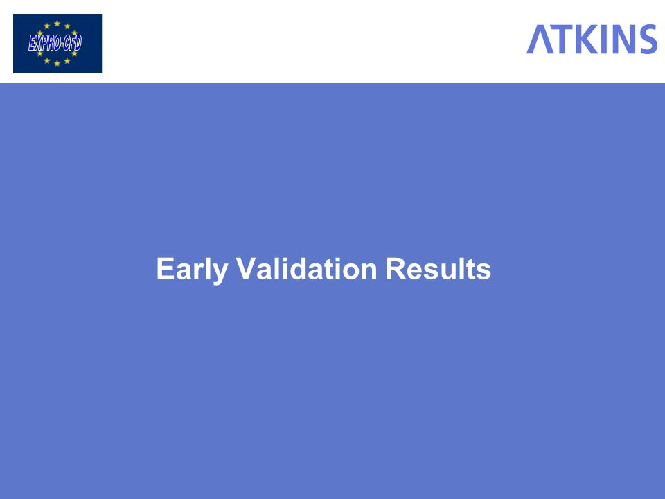 Early Validation Results