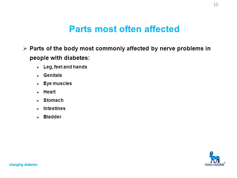 Diabetes and Nerve Problems