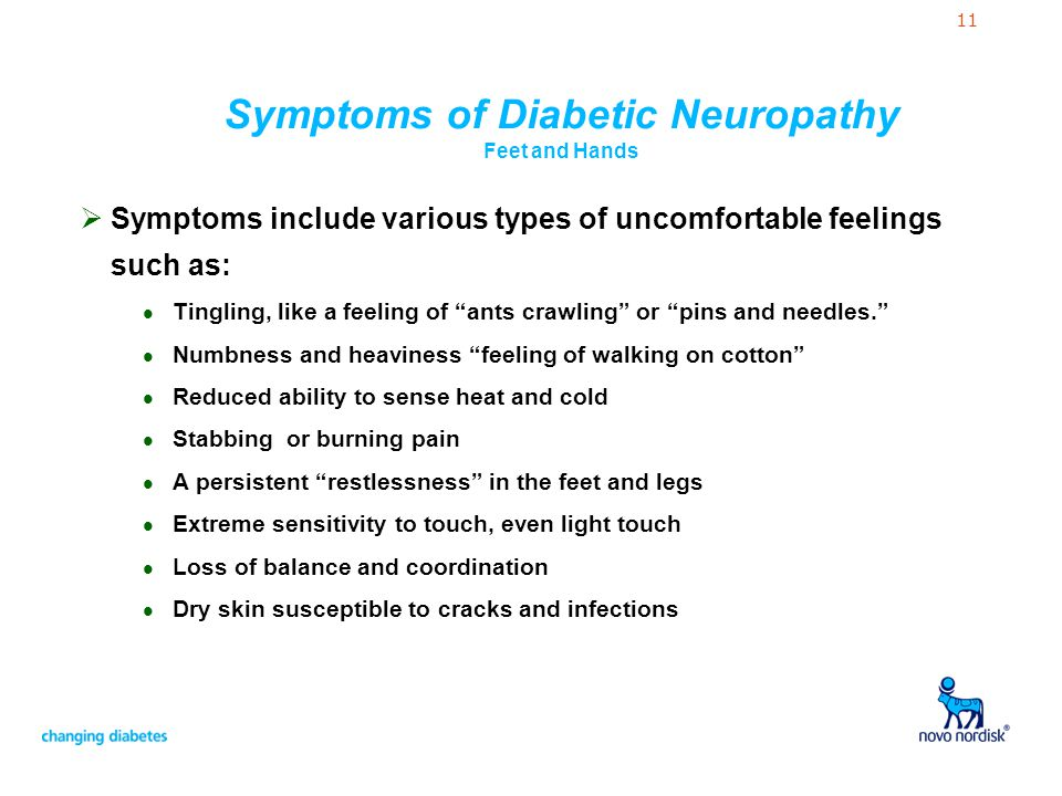 Diabetes and Nerve Problems - ppt video online download
