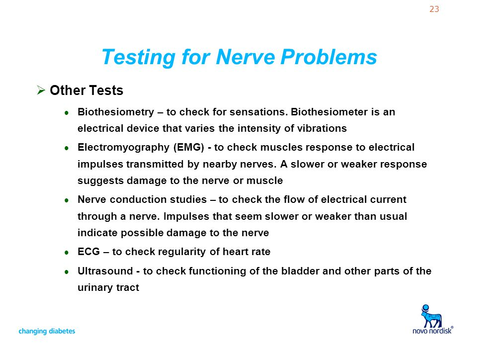 Testing for Nerve Problems