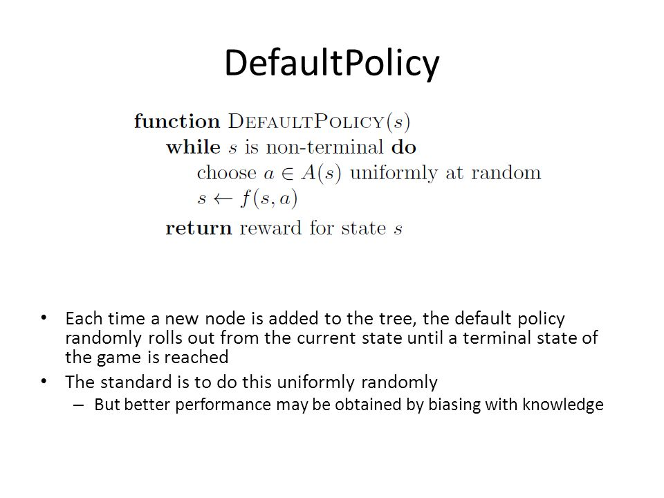 DefaultPolicy