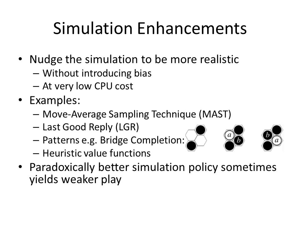 Simulation Enhancements