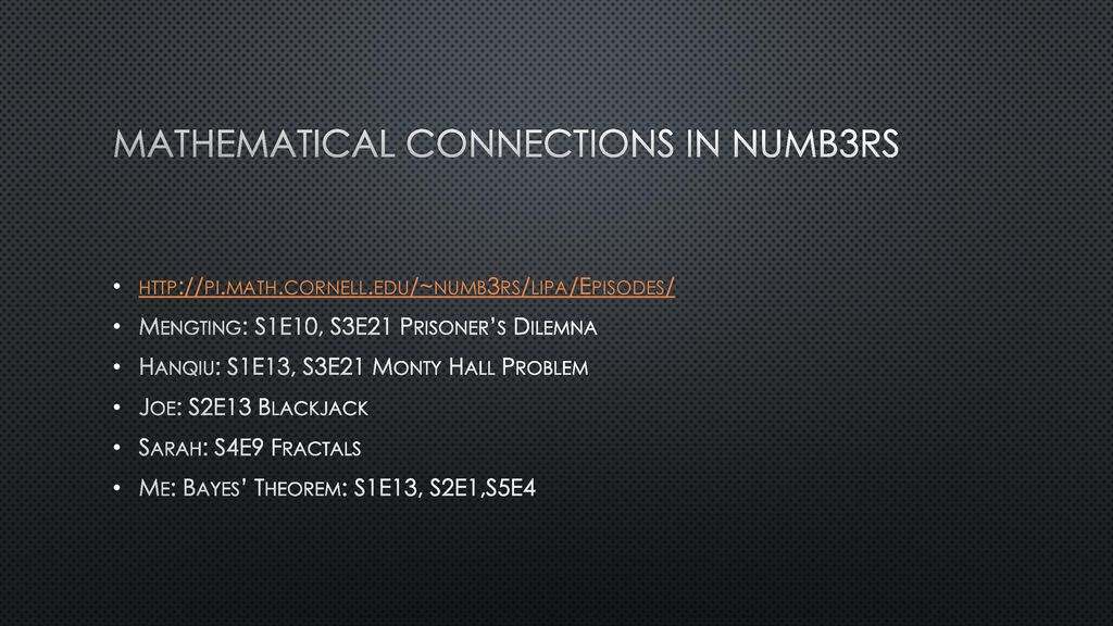 Predicting and Solving Crime Using Mathematics - ppt download