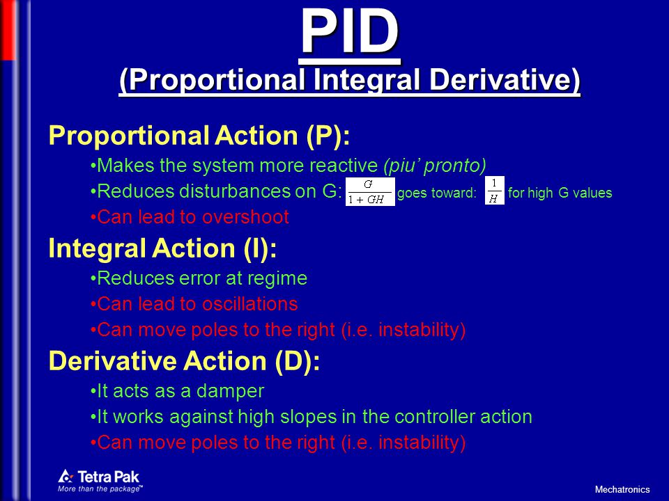 PID (Proportional Integral Derivative)
