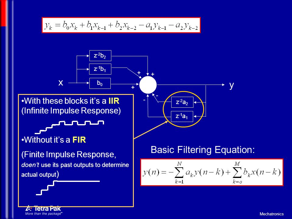 Basic Filtering Equation: