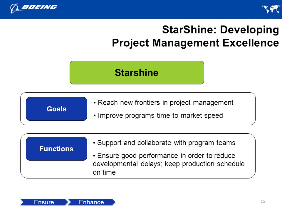StarShine: Developing Project Management Excellence