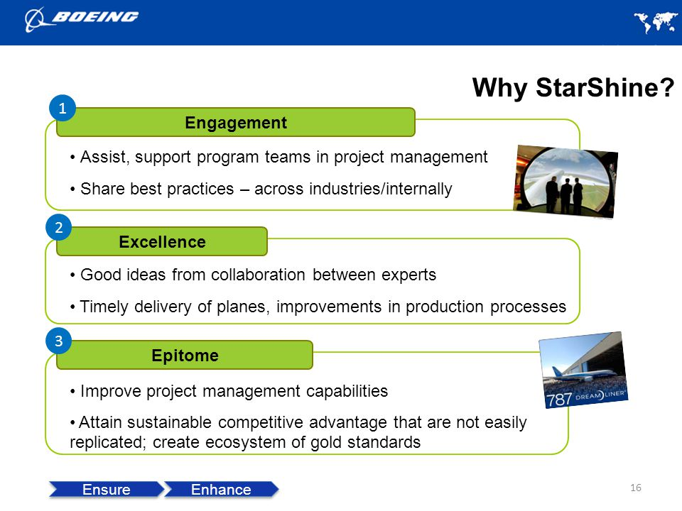 Why StarShine 1 Engagement