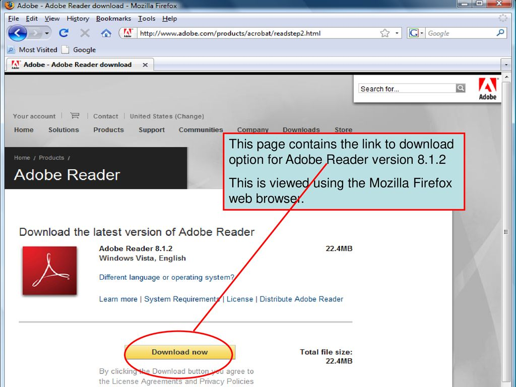 adobe reader 8 download