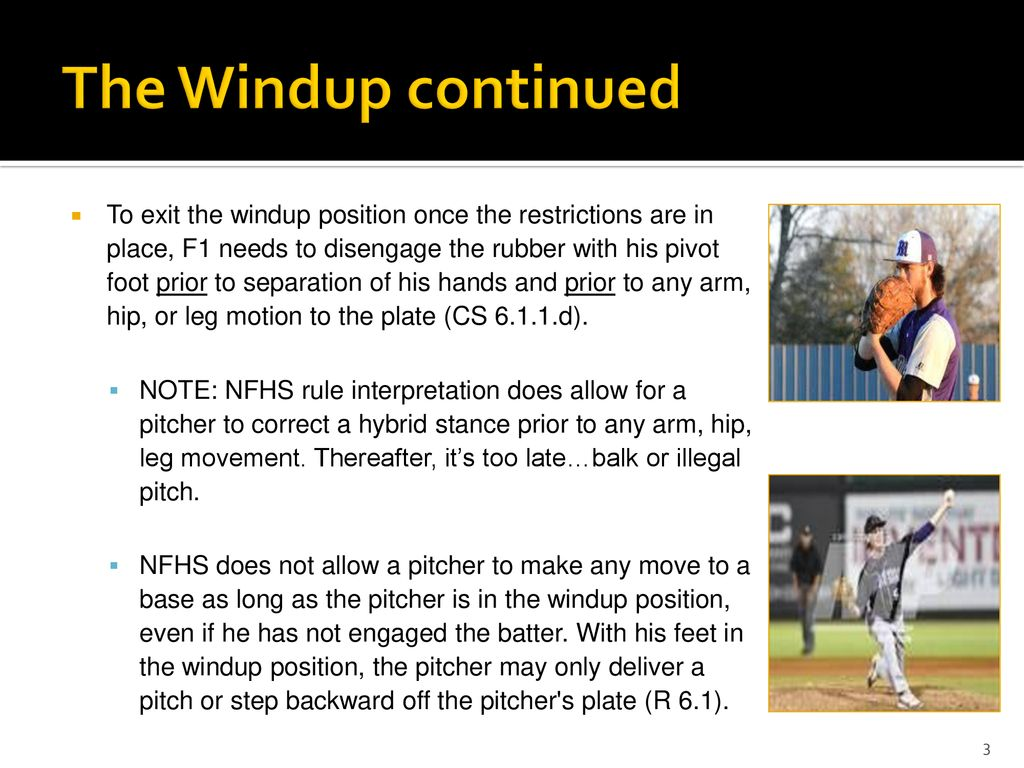 Understanding And Enforcing Hybrid Pitching Rules Ppt Download