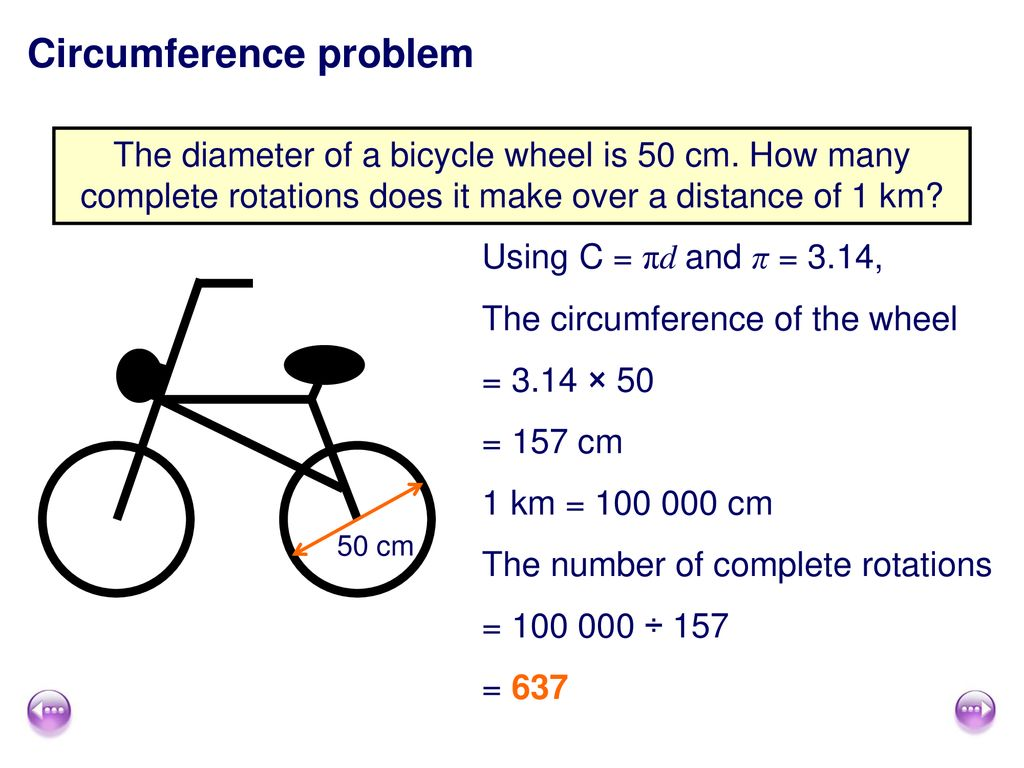 Find the Circumference of a Circle - ppt download