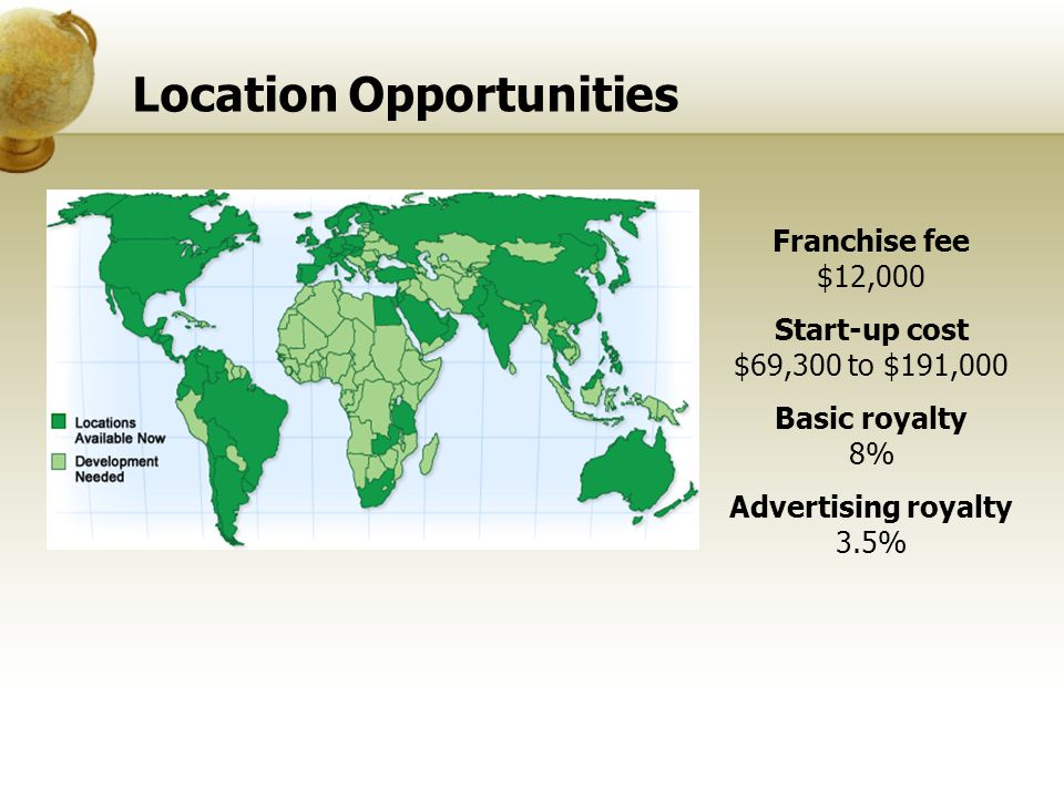 Location Opportunities
