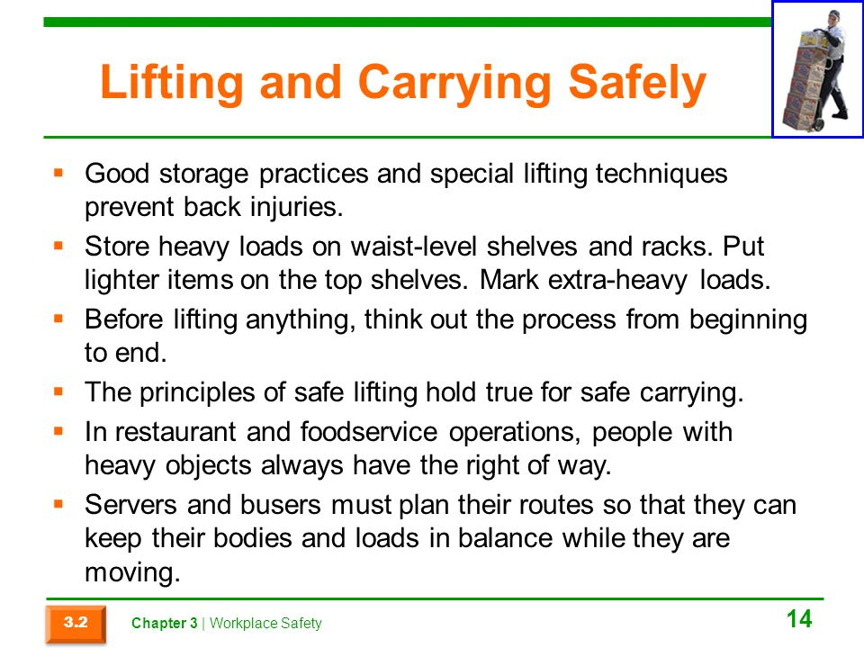 Lifting and Carrying Safely
