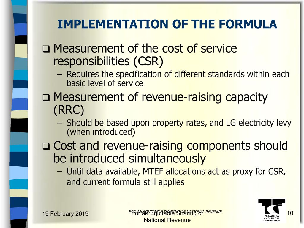 PROPOSED FRAMEWORK FOR LOCAL GOVERNMENT FINANCE - ppt download