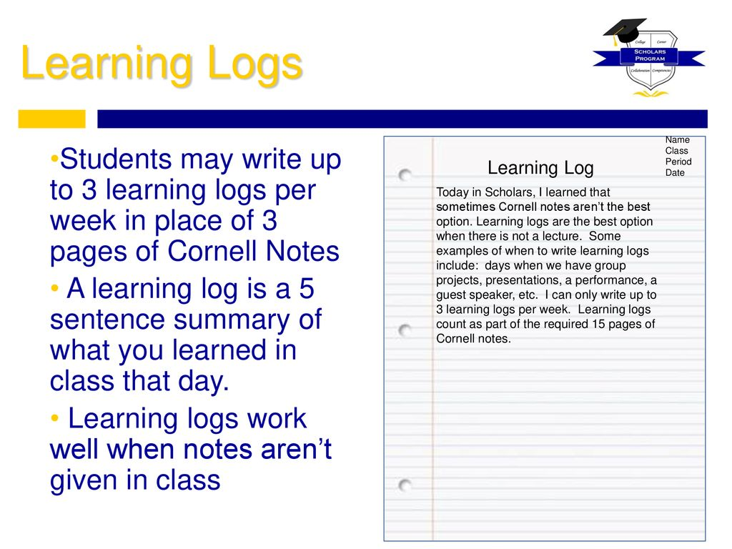 Taking Cornell Notes  - ppt download