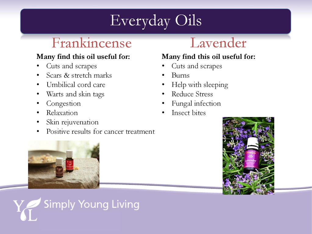 Essential Oils 101 DISCLAIMER: The information provided in this