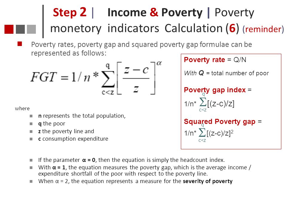 Step 2 |. Income & Poverty | Poverty monetory