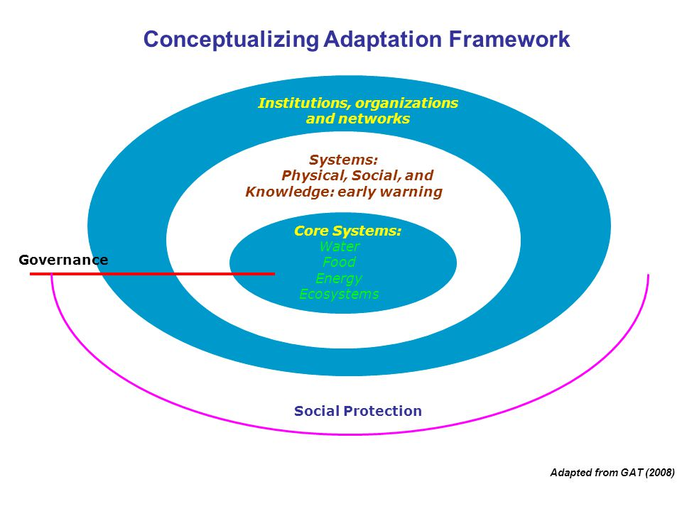 Conceptualizing Adaptation Framework