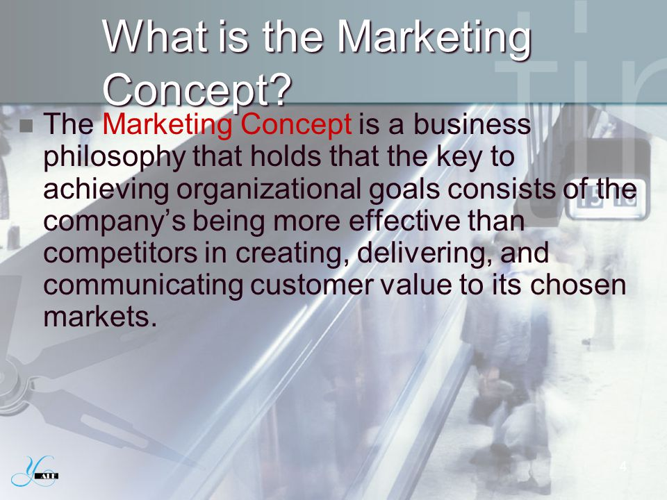 What is the Marketing Concept